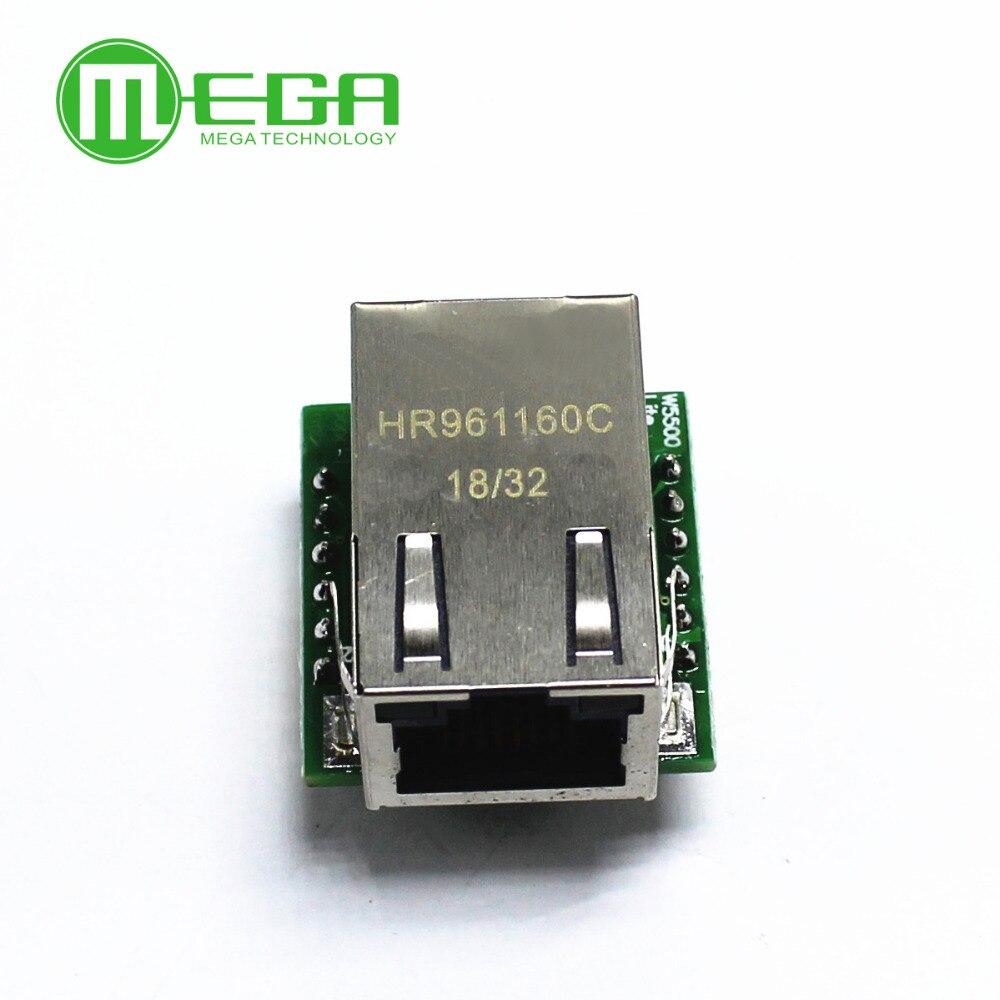 Neue Intelligente Elektronik USR-ES1 W5500 Chip Neue SPI um LAN/Ethernet Konverter TCP/IP Mod