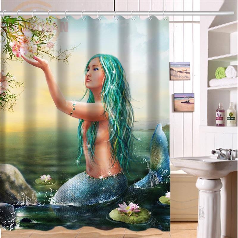 Cortina de ducha de tela impermeable para baño de 66x72 pulgadas y 60x72 pulgadas