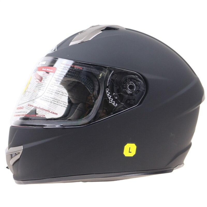 S M L XL المتاحة أحدث معيار Snell M2015 خوذة الدراجة البخارية القابلة للإزالة وقابل للغسل بطانة ZOX خوذة لدراجة كبيرة النزوح