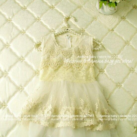 Princesa al por menor bebé niñas Tutu vestir ropa de niño encaje nuevo verano fiesta boda Vestido niños ropa chico vestido para niñas 3-7Y