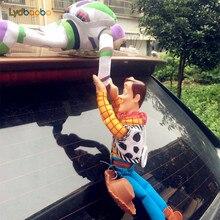 25/35/45cm adorável brinquedo história sherif carro amadeirado boneca brinquedos de pelúcia fora pendurar brinquedo bonito acessórios de automóvel venda quente decoração do carro brinquedo