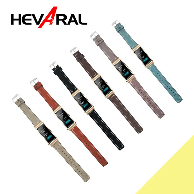 Hevaral 2018 nueva correa Original para Huawei TalkBand B5 pulsera de cuero accesorios para Huawei Talk Band B5