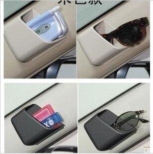 Caja de contenido tipo pasta multiusos caja de transporte de coche de gafas/auricular uso caja de contenido compartimento de coche