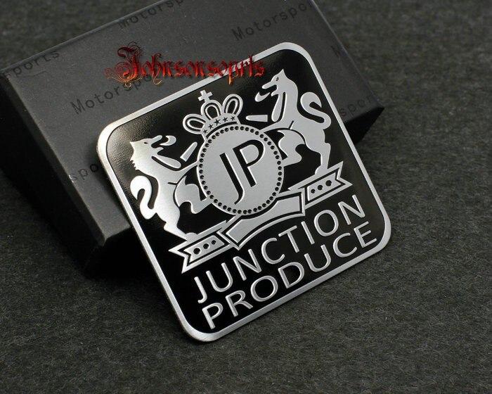 1 piezas para JP JUNCTION producir VIP 3D insignia emblema etiqueta engomada del coche de 60mm * 55mm coche de buena calidad -estilo