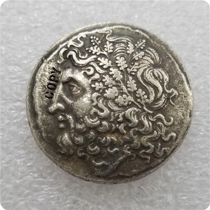 Тип: №31 старинная греческая монета, копия памятных монет-Реплика монет, медаль, коллекционные монеты