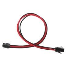 Neue ATX Netzteil 24PIN Weiblichen zu Männlichen 20 + 4 P 18AWG NETZTEIL Verlängerung Power Kabel heißer
