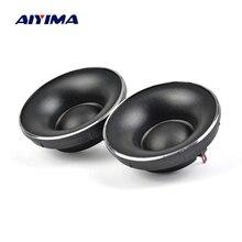AIYIMA 2 pièces Tweeter haut-parleur Audio 52MM 6 ohms 10W dôme en soie néodyme magnétique haut-parleur aigu haut-parleur