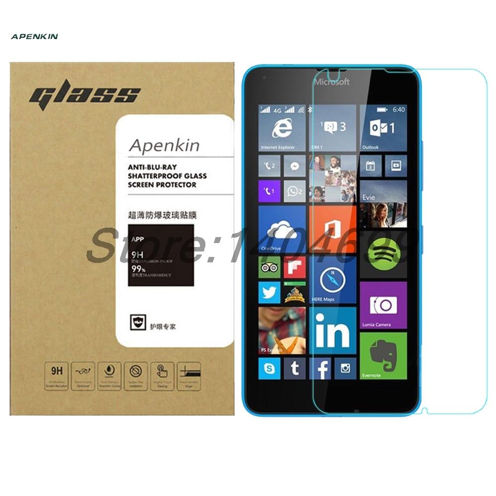 Para Microsoft Lumia 640 vidrio templado 9H 0,26mm 2.5D Protector de pantalla...