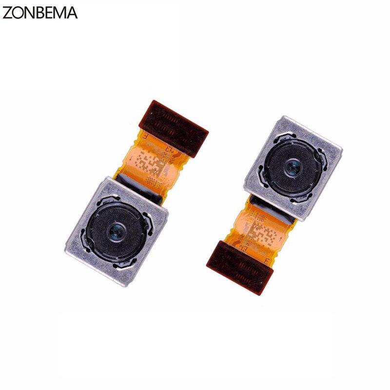 ZONBEMA 100% prueba de funcionamiento Original para Sony Xperia Z5 Z5 Compact Z5 Premium E6683 E6653 piezas de repuesto para cámara trasera principal