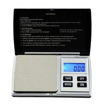 Précision 500g/0.01g balances numériques portables Mini poids Steelyard grammes pièce or bijoux échelle poche poids Balance LCD