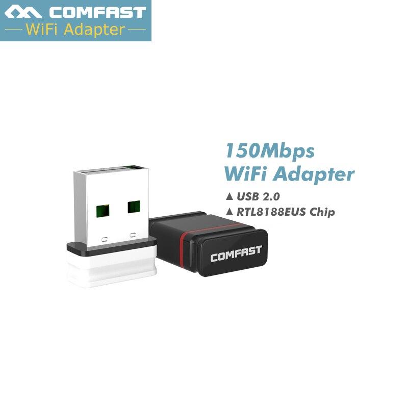 Adaptador wifi para punto de acceso, adaptador Comfast CF-WU810N, 2 uds., RTL8188EU