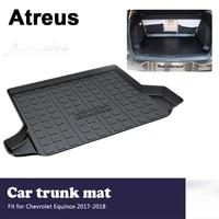 atreus car accessories waterproof anti slip trunk mat tray floor carpet pad for chevrolet equinox 2017 2018
