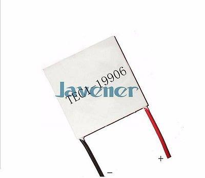 TEC1-19906 24В 6А радиатор Термоэлектрический охладитель Пельтье охлаждающая пластина 40x40 мм Холодильный модуль