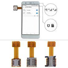 Dual Micro SD Adapter Micro SIM Card Hybrid Dubbele Micro Uitbreiding Voor Artel P5 U4 Uhans S1 A101 H5000 U300 s3 MX i8 A6
