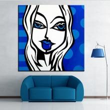 Peinture à lhuile et raie au salon   Impression de grande taille, peinture murale POP-Art, tableau artistique pour la peinture, sans cadre