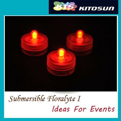 DHL y Fedex envío gratis simple sumergible operado a batería micro led Hada luz Led Floralyte para decoración de pastel de fiesta
