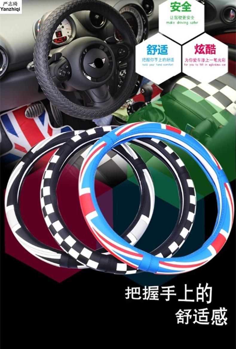 Envío Gratis, volante británico de gran calidad con bandera de la Unión Británica para MINI COOPER Clubman Countryman