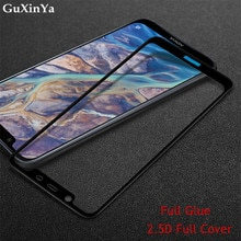 Screen Protector Glass For Nokia 8.1 Full Glue Tempered Glass For Nokia 8.1 Full Cover Phone Glass F
