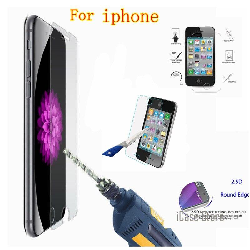 Vidrio templado de protección de Pantalla para iphone 4 4S 5 5S...