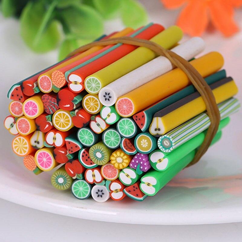 10 шт./компл. фимо фрукты, ломтики для поставки слаймов/Типсы для дизайна ногтей, глина, искусственные фруктовые ломтики, слаймы, игрушки Lizun, наполнитель для рукоделия