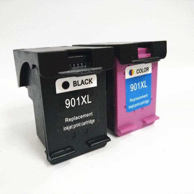 Substituição do Cartucho de Tinta para hp Einkshop Compatível Officejet J4500 J4580 J4550 J4540 J4680 J4524 J4535 Impressora 901xl 901 xl