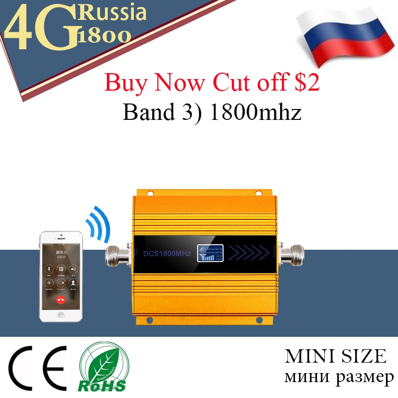 Répéteur GSM/LTE 1800 2g/4g pour réseau de téléphonie mobile, 1800MHz, DCS