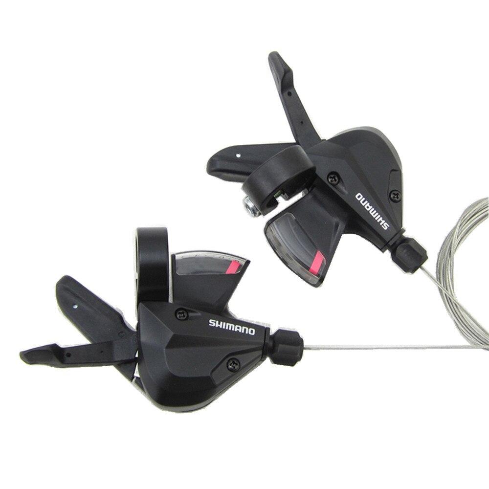 100% genuino SHIMANO Altus SL-M310 3s 7s 8s Shifter Trigger Set Rapidfire 21 Velocità/24 Velocità m315 Comandi w/Cavi Interni
