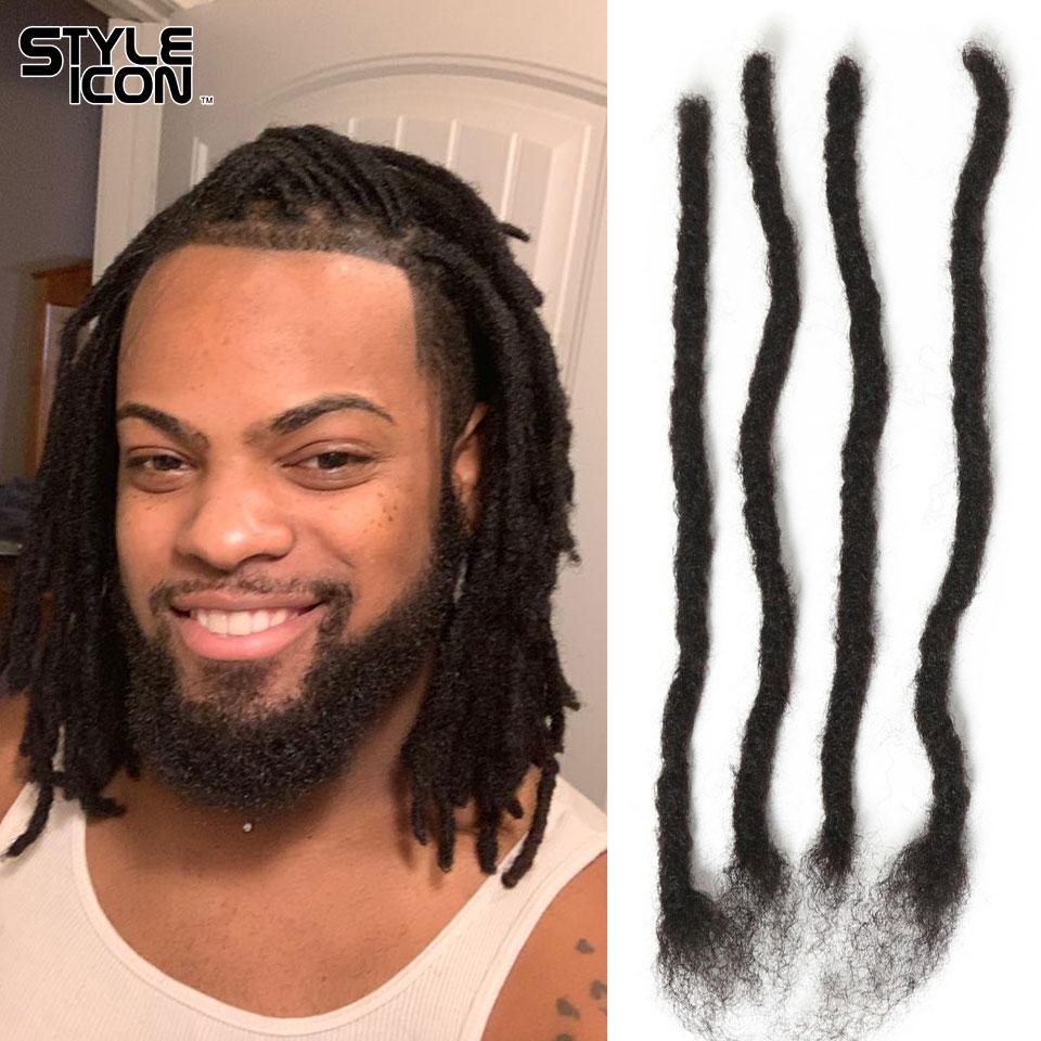 Nueva llegada Afro rizado pelo humano a granel para Crochet trenzado cabello humano rizado de la onda Crochet Dreadlocks cabello humano 12 pulgadas-20 pulgadas