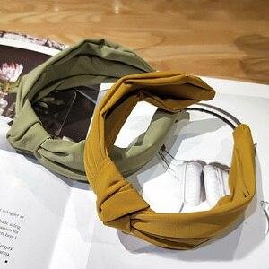 Cotton Soft Headdress Hair Bows Hairband Fashion Retro Knot Headband Hair Band For Women Hair Accessories Headwrap