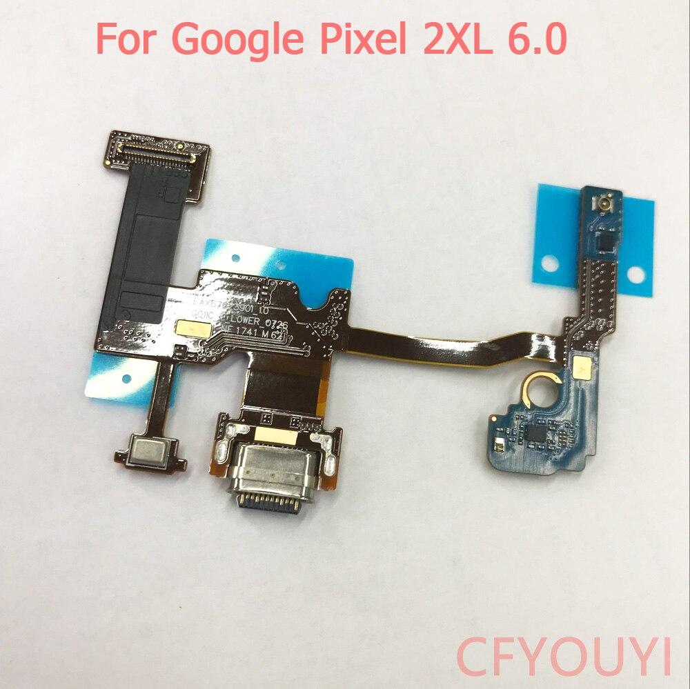 De Google para Google Pixel 2 XL 2XL PCB Junta Cargador Micro...