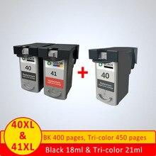 XiangYu PG40 cartouche dencre Compatible pour Canon PG 40 CL 41 PIXMA iP1800 iP1200 iP1900 iP1600 MX300 MX310 imprimante