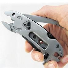 Набор инструментов для выживания, многофункциональные плоскогубцы, карманный нож, отвертка, регулируемый гаечный ключ
