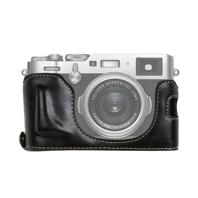 Bolsa Retro Para cámara de vídeo, medio estuche de PU, montaje de...