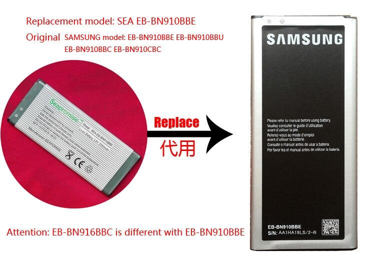 EB-BN910BBE de batería para Galaxy Note 4 EB-BN910BBC, SM-N910I,SM-N910K,SM-N910L,SM-N910M,SM-N910R4,SM-N910S,SM-N910T