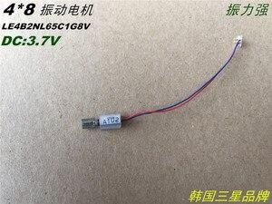 4 * 8mm motor hollow cup vibration motor 2V-3.7V miniature DC vibration motor mobile phone column vibrator