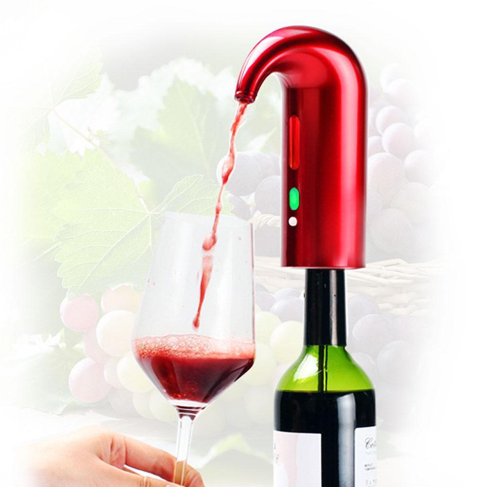 Decantador de vino eléctrico inteligente portátil automático vertedor de vino tinto aireador decantador dosificador de vino herramientas Bar Accesorios