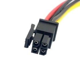 ATX Molex Conector Micro Fit 4Pin macho a macho Cable de alimentación 60cm