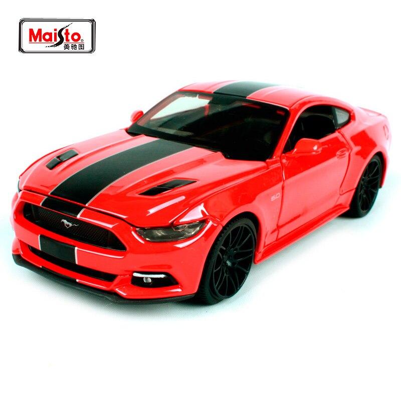 road signature vintage 1968 ford shelby mustang gt 500kr muscle race diecast 1 18 scale metal model cars Maisto 1:24 2015 Ford Mustang GT Modern Muscle Diecast Model Car Toy New In Box Free Shipping 31369