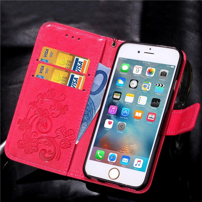 Dla iphone 7 plus 4S 5S 4 5 6 s skórzane etui z klapką case do samsung galaxy a3 a5 j3 j5 2016 j1 s6 s7 s3 s4 s5 mini grand prime pokrywa 16