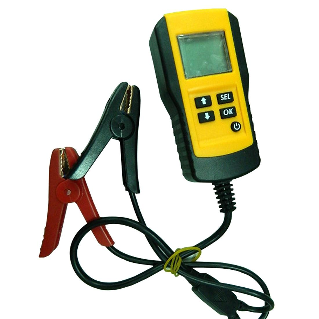Автомобильный ЖК-цифровой анализатор для тестирования батареи 1 шт. 12 в автомобильный тестер для аккумулятора Автомобильный анализатор сис...