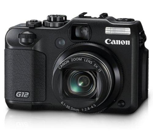 Usado, cámara Digital Canon G12 10 MP con Zoom estabilizado de imagen...