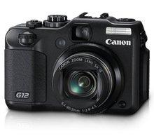 Utilisé, appareil photo numérique Canon G12 10 MP avec Zoom stabilisé à Image optique 5x et écran LCD à Angle variable de 2.8 pouces