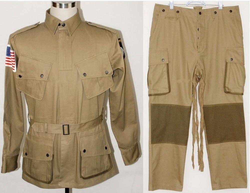 Uniforme de paracaidista WWII US Army M1942 M42, chaqueta, pantalones, tallas US207