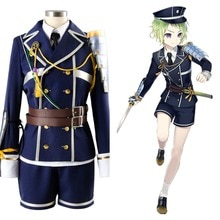 Touken Ranbu Mori Toshiro tenue uniforme Costume Cosplay ensemble complet
