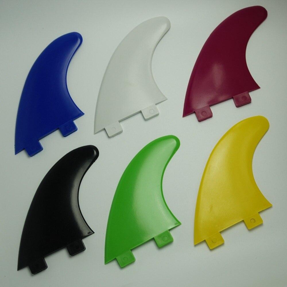 Aleta de tabla de Surf reforzada con fibra de vidrio aletas de Surf G5 aletas de Surf de tamaño mediano (3 uds)