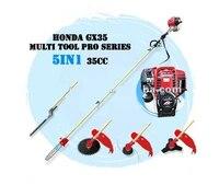 professional gx35 4 stroke 35cc engine 5 in 1 long reach pro multi tool brush cutter whipper snipper hedge trimmer pole pruner