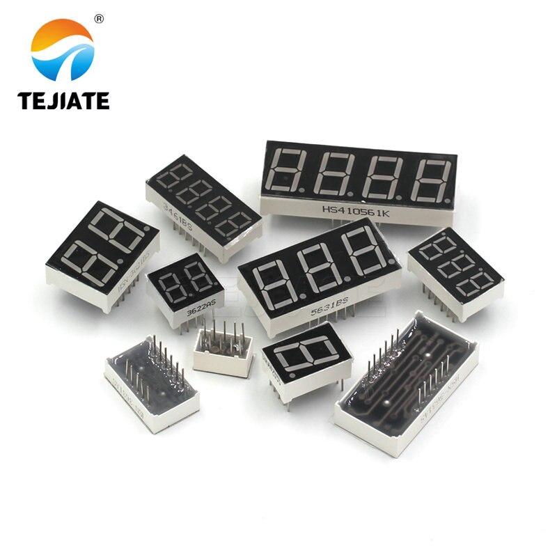 2PCS 0.36inch LED display 7 Segment 1 Bit/2 Bit/3 Bit/4 Bit Digit Tube Red Common Cathode / Anode Digital 0.36 inch led 7segment