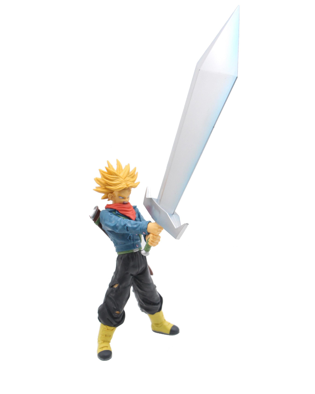 Dragon Ball Z Super Saiyan bañadores con gran espada Final espero que Barra de PVC colección de figuras de acción juguetes MODELO DE 21cm