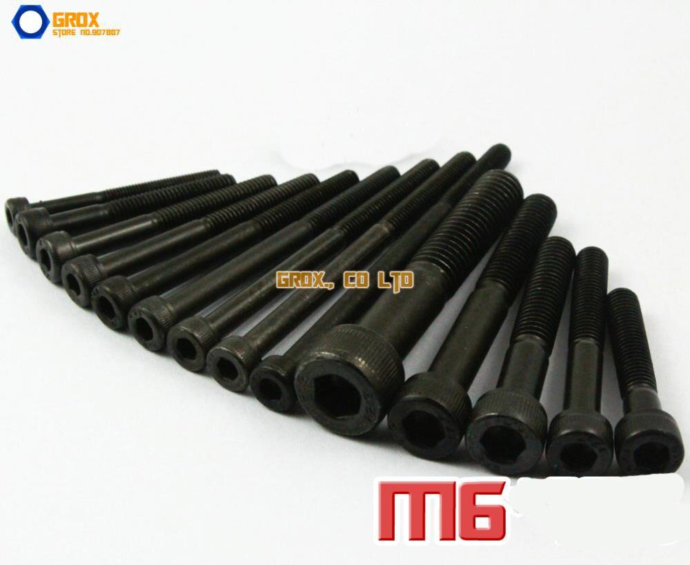 M6 полурезьбовой шестигранный болт с шестигранной головкой с винтом из легированной стали класса 12,9