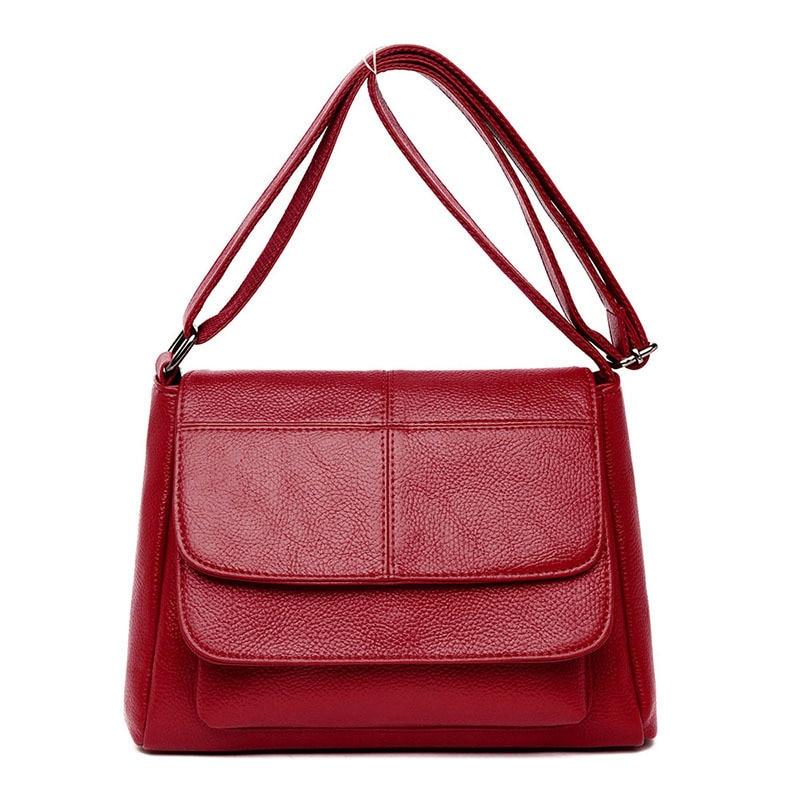 2019 New Crossbody Bags for Women Soft Leather Luxury Handbags Women Bags Designer Ladies Hand Bags Sac A Main Femme